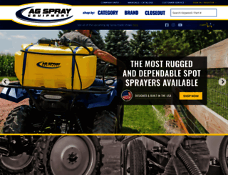 agspray.com screenshot