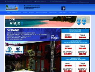 aguasdelparaiso.com.ar screenshot