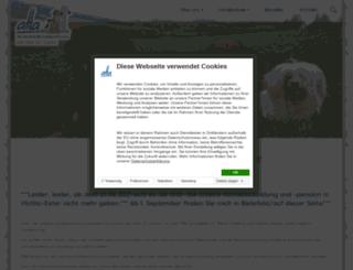 aha-hundeausbildung.de screenshot