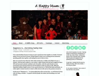 ahappymum.com screenshot