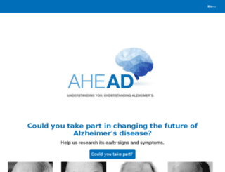 aheadregistry.com screenshot