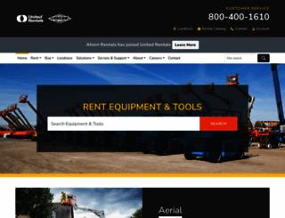 ahern.com screenshot