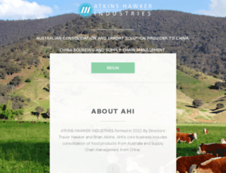 ahindustries.com.au screenshot