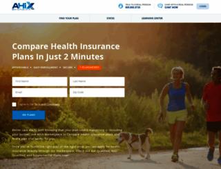 ahix.com screenshot