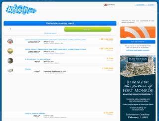 ahlein.net screenshot