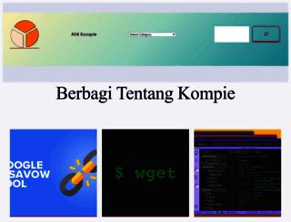 ahlikompie.com screenshot
