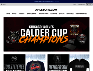 ahlstore.com screenshot