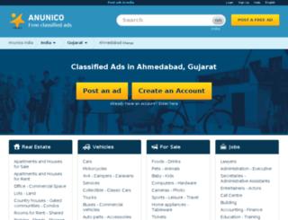 ahmedabad.anunico.in screenshot