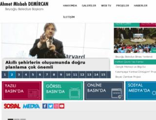 ahmetmisbahdemircan.org screenshot
