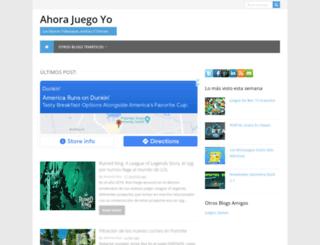 ahorajuegoyo.com screenshot