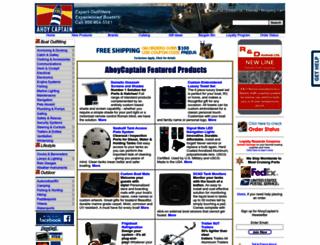ahoycaptain.com screenshot