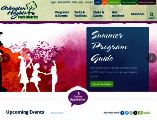 ahpd.org screenshot