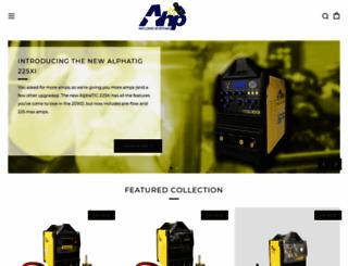 ahpwelds.com screenshot