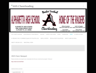 ahscheer.org screenshot