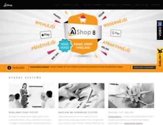 ai-shop.cz screenshot