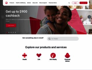 aia.com.au screenshot