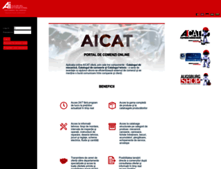 aicat.ro screenshot