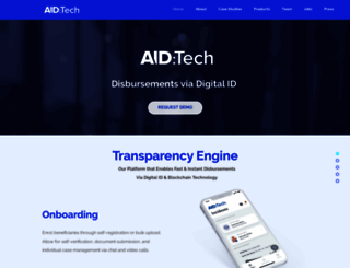 aid.technology screenshot