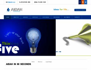 aidah.co.za screenshot