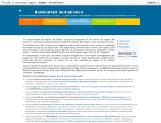 aidenligne-francais-universite.auf.org screenshot
