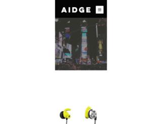 aidge.co.uk screenshot