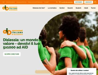 aiditalia.org screenshot