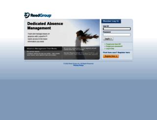 aig.leavepro.com screenshot