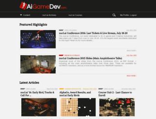 aigamedev.com screenshot