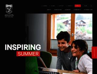aiglon.ch screenshot
