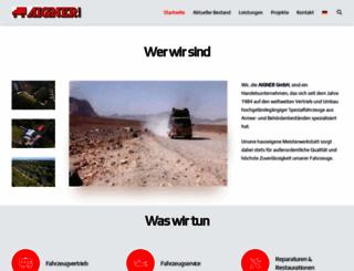 aignertrucks.com screenshot
