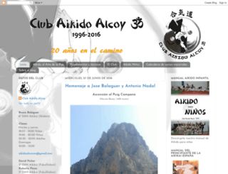 aikidoalcoiom.blogspot.com screenshot