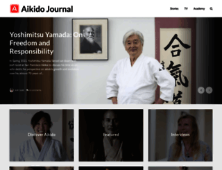 aikidojournal.com screenshot