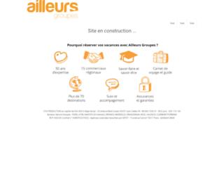 ailleurs.com screenshot