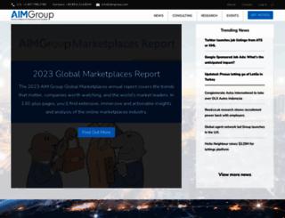 aimgroup.com screenshot
