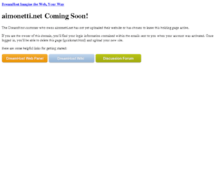 aimonetti.net screenshot