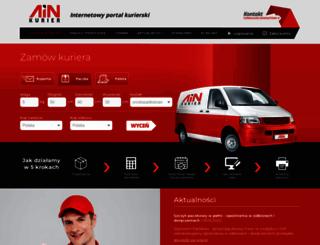 ainkurier.pl screenshot