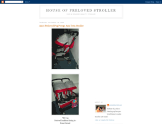 ainsprelovedstrollers.blogspot.com screenshot