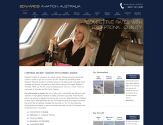 air-charter-australia.com screenshot