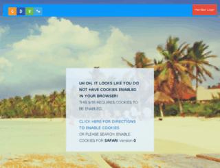 air.globaldiscoveryvacations.com screenshot