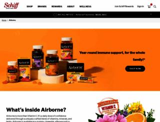 airbornehealth.com screenshot