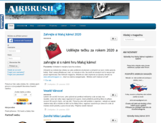 airbrushmagazin.cz screenshot