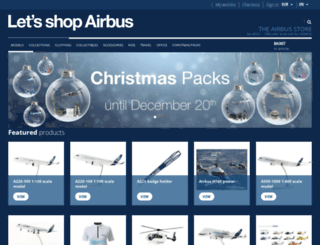 airbus-shop.com screenshot
