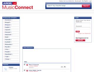 aircelmusicconnect.com screenshot