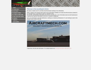 aircraftmech.com screenshot