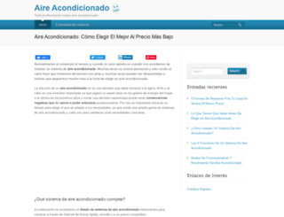 aireacondicionadonet.com screenshot