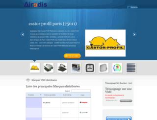 airedis.fr screenshot