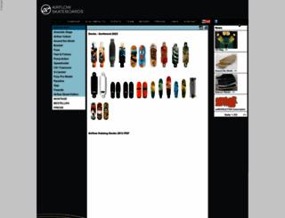airflow-skateboards.com screenshot