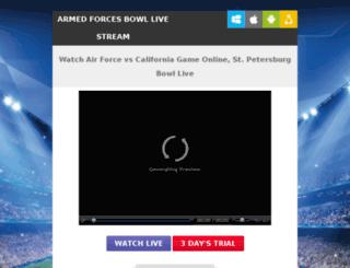 airforcefootballlive.com screenshot