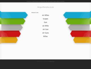 airgunfanatix.co.za screenshot