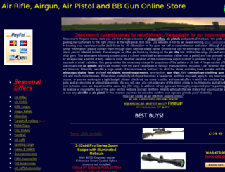 airguns-online.co.uk screenshot